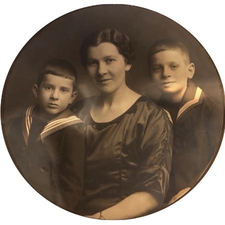 Marga Plessner und Kinder